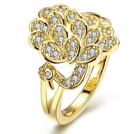 Gold Floral Blossom Ring