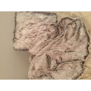 Luxury Soft Faux Fur Reversible Fleece Blanket