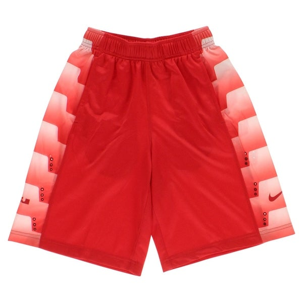 54b4ee5acb0d Shop Nike Boys LeBron Seasonal Basketball Shorts Red - red white - XL -  Free Shipping On Orders Over  45 - Overstock - 22694165