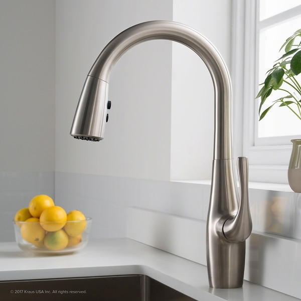 Kraus KPF-1670 Esina 1-Handle 2-Function Pulldown Kitchen Faucet