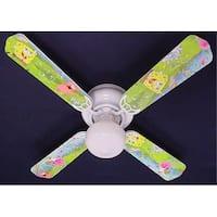 Nickelodeon Sponge Bob Print Blades 42in Ceiling Fan Light Kit - Multi