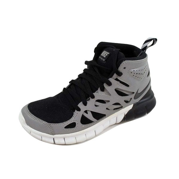 reputable site 3efbb bf7f2 ... Athletic Shoes. Nike Women  x27 s Free Run 2 Sneakerboot Premium Black  Black-Metallic