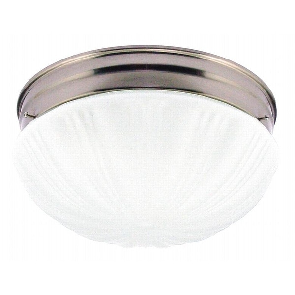 Westinghouse 67212 Two Light Flush Mount Ceiling Fixture