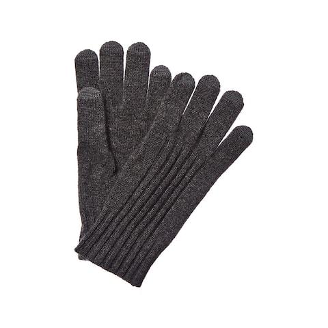 Qi Tech Cashmere Gloves - CHARCOAL-TW1742