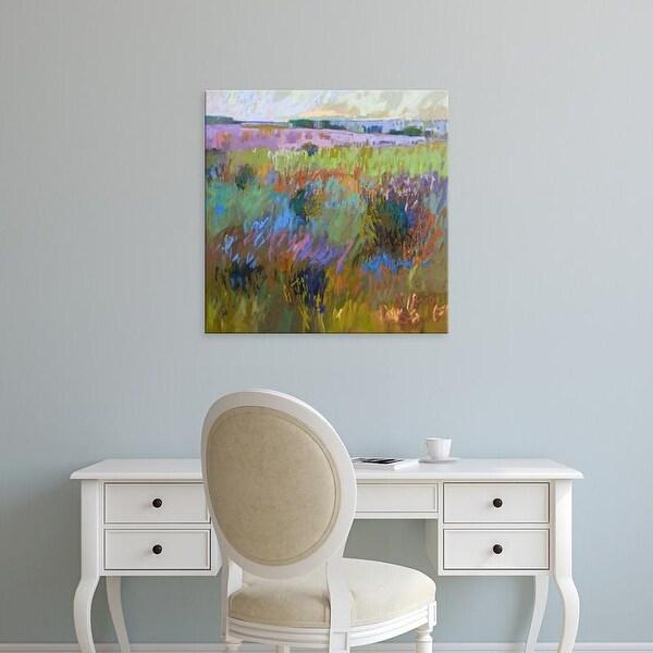 Easy Art Prints Jane Schmidt's 'Beyond and Further' Premium Canvas Art
