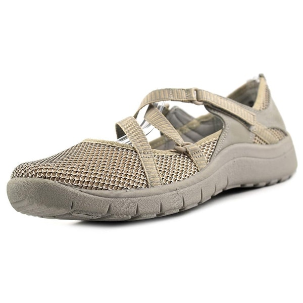 Baretraps Poppy Women Round Toe Synthetic Tan Mary Janes
