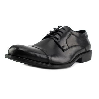 Steve Madden P-Silvan Men Cap Toe Leather Oxford