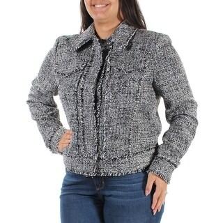 MICHAEL KORS $225 Womens New 1321 Black Suit Wear To Work Jacket 12 B+B