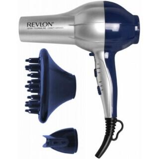 Revlon RV484BLU Perfect Heat Pro Stylist Shine Booster Hair Dryer, 1875W