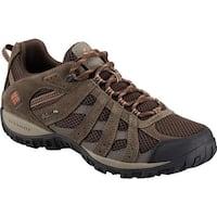 Columbia Men's Redmond Hiking Shoe Cordovan/Dark Ginger
