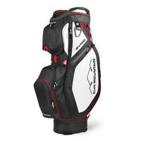 New 2020 Sun Mountain Sync Cart Bag - (Black / White / Red)