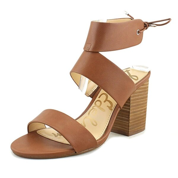Sam Edelman Valerie Women Open Toe Leather Brown Sandals