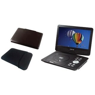 Craig CTFT751TKPL 10 in. LCD Portable DVD Player