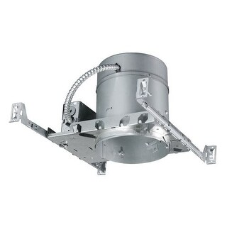 "Woodbridge Lighting 9R6E6N1-ICA New Construction 7"" Housing - IC Rated and Airtight - SINGLE - Silver"