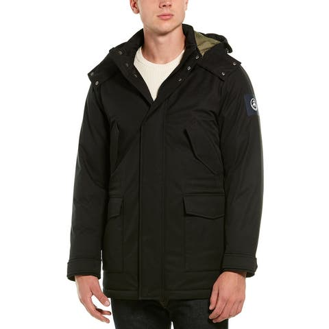 Brooks Brothers Hooded Down Parka