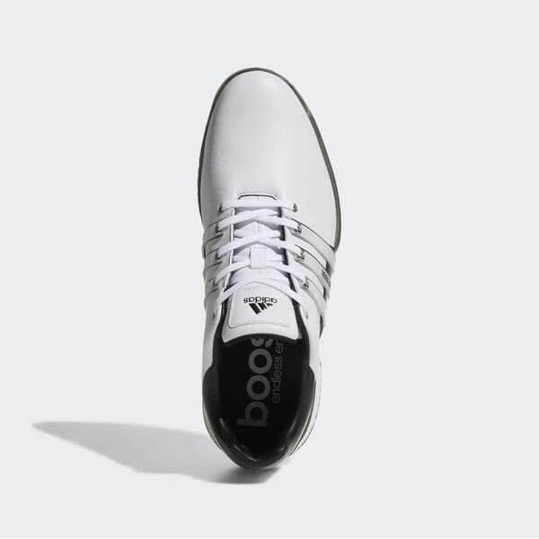 Shop New Men S Adidas Tour 360 Boost 2 0 Golf Shoes White Black Black Q44985 Q44939 Overstock 28415282