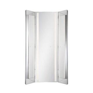 """Eurofase Lighting 34001 60"""" x 43-1/2"""" Rectangular Flat Lighted Vanity Mirror wit - N/A"""
