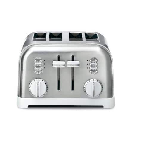Cuisinart 4-Slice Metal Classic Toaster (White)