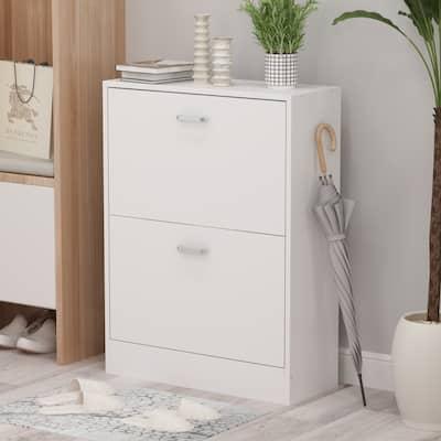 FUFU&GAGA 2-tier Shoes Cabinet Storage
