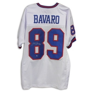 Mark Bavaro New York Giants Autographed White Jersey