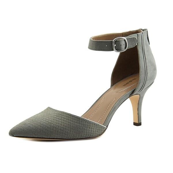 Style & Co Wyild Women Pointed Toe Synthetic Gray Heels