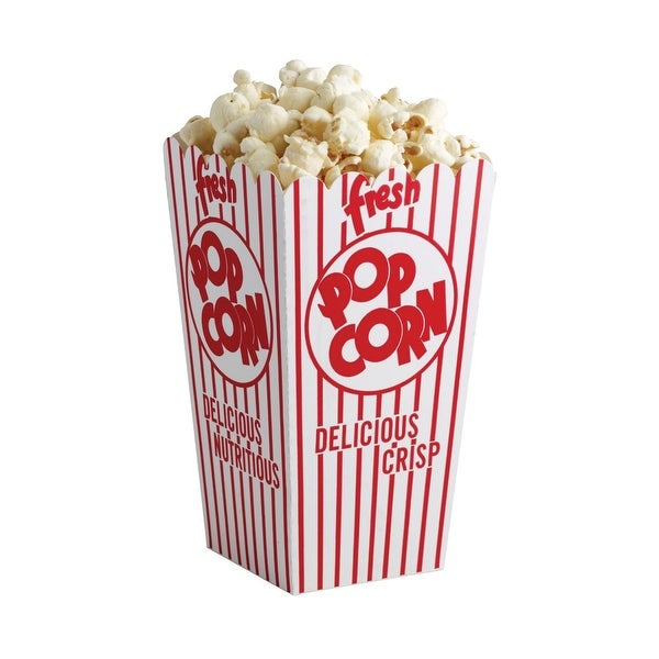 Regency RW325 Paperboard Popcorn Holder, Set Of 6