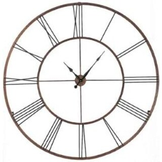 "Gigantic 50"" Open Design Classical Roman Numeral Wall Clock"