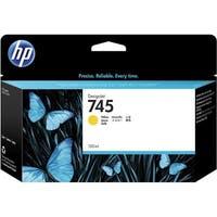HP 745 130-ml DesignJet Yellow Ink Cartridge (F9J96A)(Single Pack)