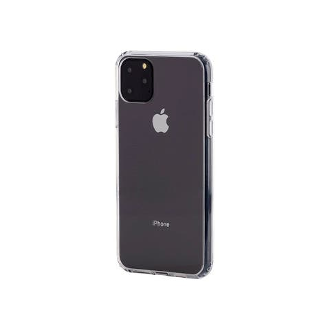 Monoprice iPhone 11 Pro Max Rugged Slim Case, Clear, Drop Protection Up To 6ft.