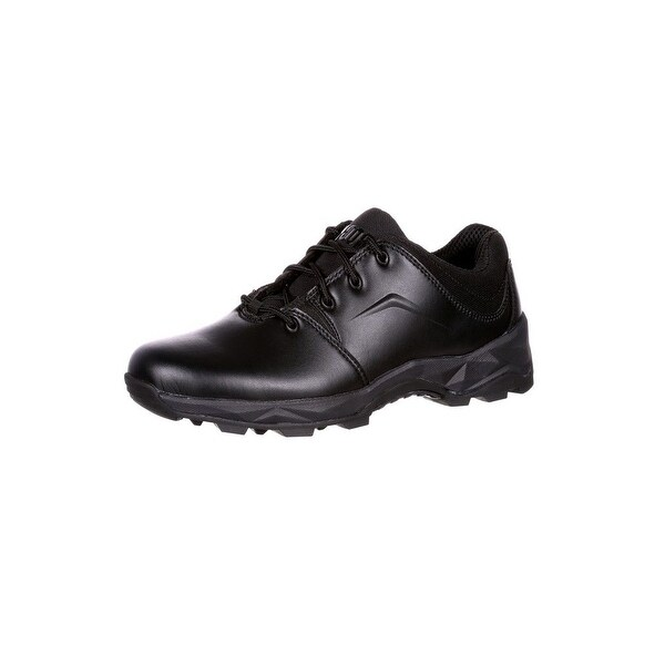 Rocky Work Shoes Mens Elements of Service Duty Light Black