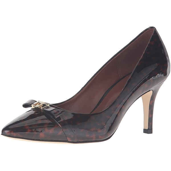 Cole Haan Womens Juliana Detail Pointed Toe Classic Pumps