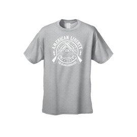 Men's T-Shirt American Liberty The 2nd Amendment Live Free Since 1776 Guns Tee