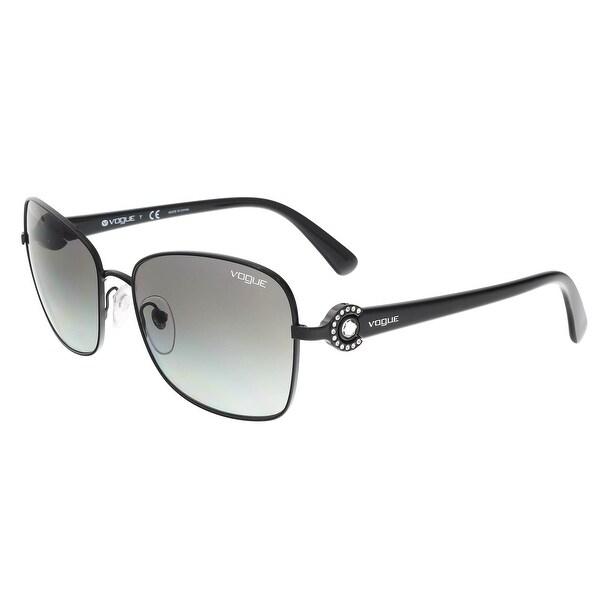 7f91e667089 Shop Vogue VO3982SB 352 11 Black Square Sunglasses - Free Shipping ...