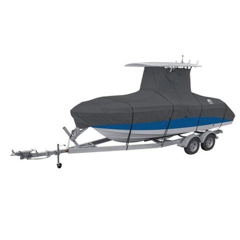 Classic Accessories Stormpro T-Top Boat Cover - Model F, Charcoal