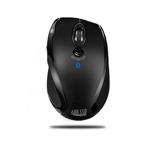 Adesso Bluetooth Ergo Mini Scroll Mouse , Advanced Optical Sensed With Dpi Switch Adesso Bluetooth Ergo Mini Scroll Mouse ,