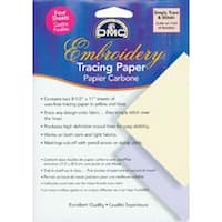 """- Dmc Embroidery Tracing Paper 8.5""""X11"""" 4/Pkg"""
