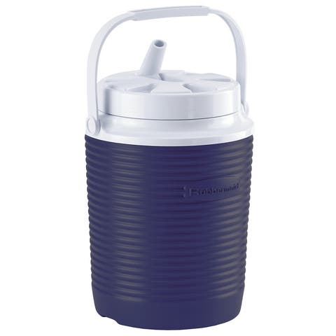 Rubbermaid FG156006MOD Victory 1 Gallon Capacity Portable Cooler - - Blue