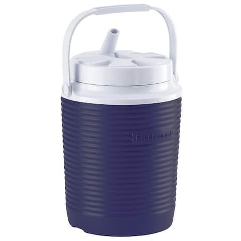 Rubbermaid FG156006MOD Victory 1 Gallon Capacity Portable Cooler - Blue