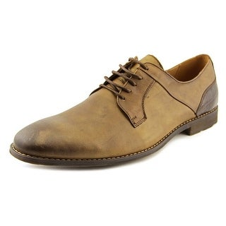Steve Madden Kojaxx Men Round Toe Leather Tan Oxford
