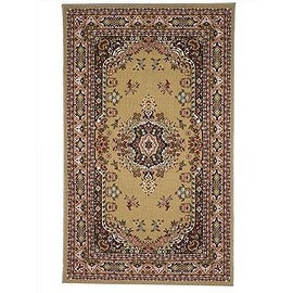 Area Rugs 5 x 8 Traditional Oriental Floral Area Rug Camel,Tan,carpet,Living Room,Foyer