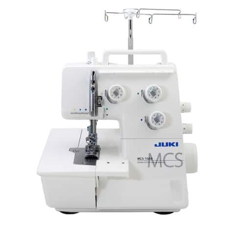 "Juki MCS 1500 Cover Stitch and Chain Stitch Machine - 12"" x 14"" x 12"""