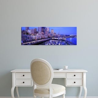 Easy Art Prints Panoramic Images's 'Seattle Washington USA' Premium Canvas Art
