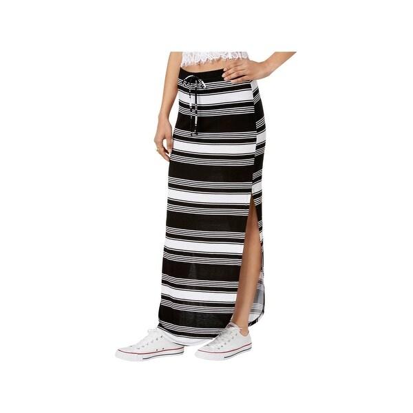 1f60fe7cc8a8 Shop Ultra Flirt Womens Maxi Skirt Knit Striped - Free Shipping On ...