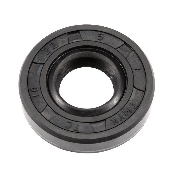 Oil Seal, TC 10mm x 22mm x 5mm, Nitrile Rubber Cover Double Lip - 10mmx22mmx5mm
