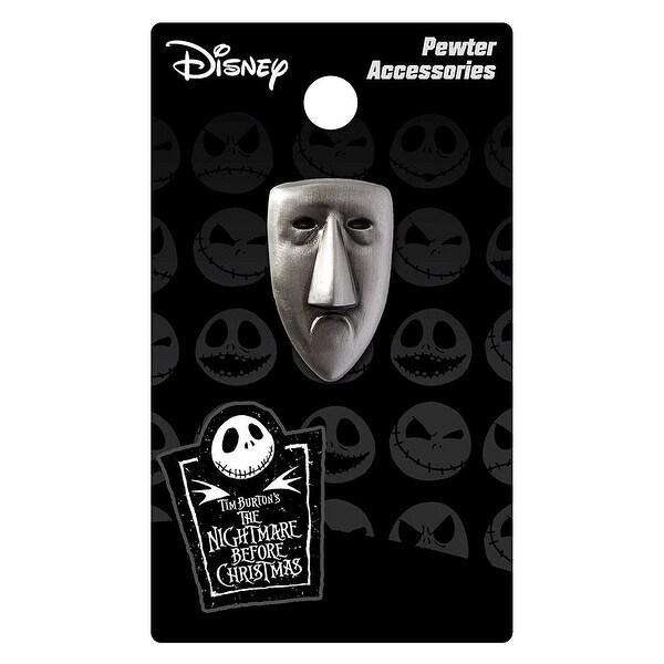 Nightmare Before Christmas Pewter Lapel Pin Shock Mask - multi