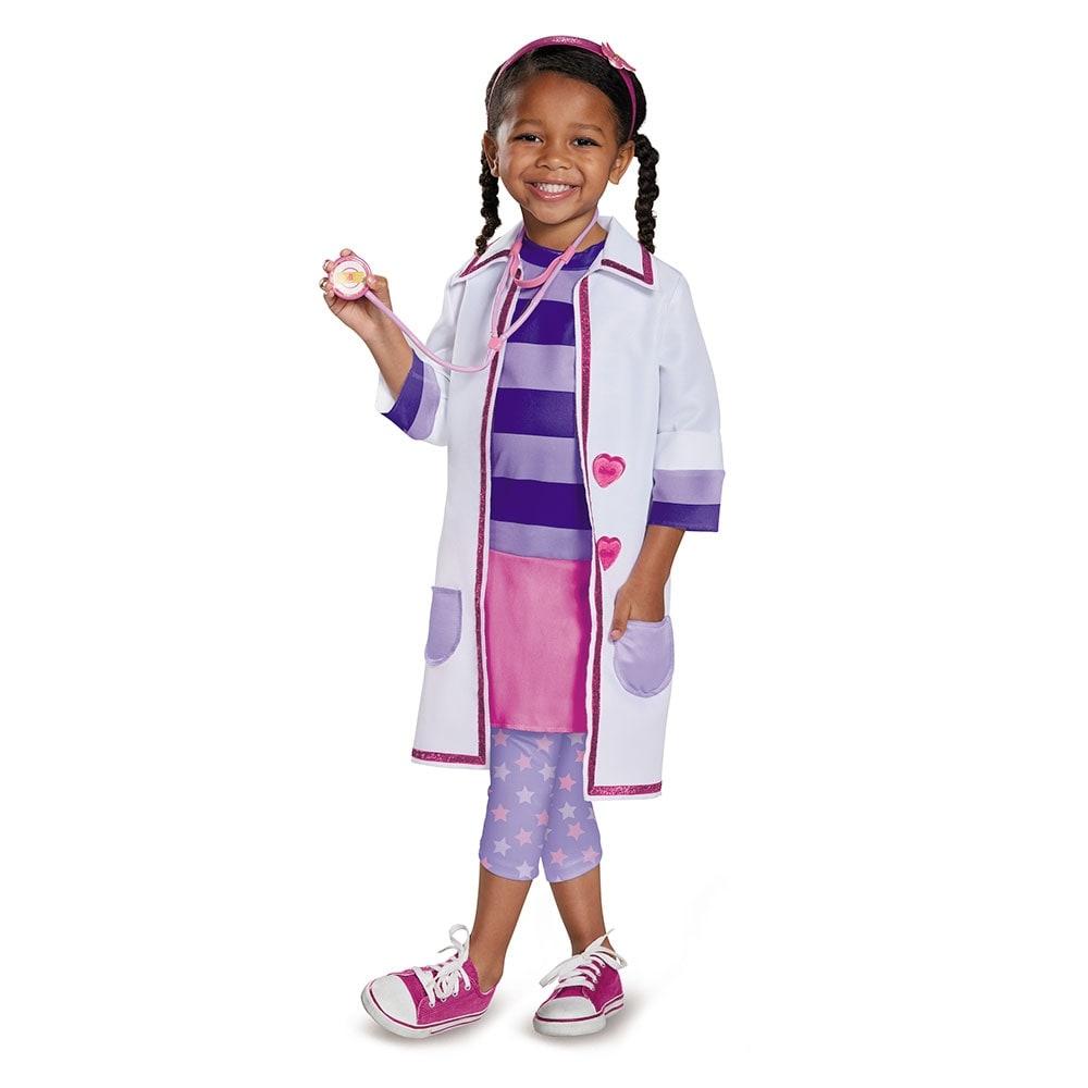 Disney Doc McStuffins Girl/'s Costume 3T 4T Doctor COAT ONLY White Halloween
