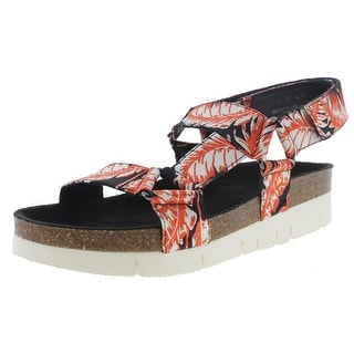 Marc Jacobs Mens Leather Strappy Platform Sandals