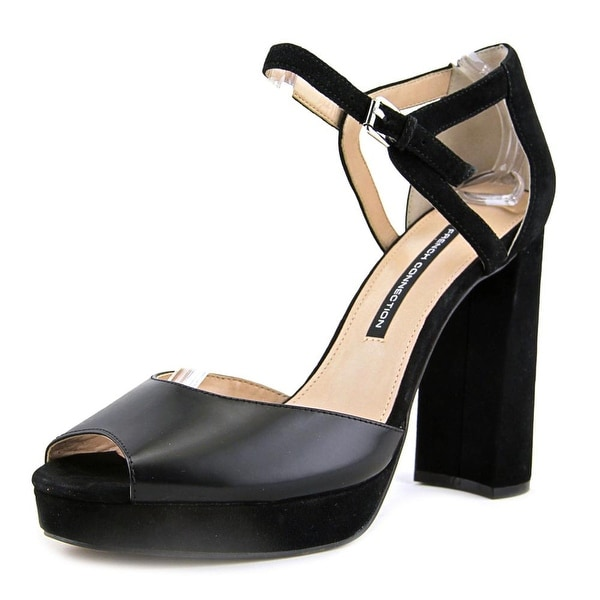 French Connection Dita Women Black Sandals