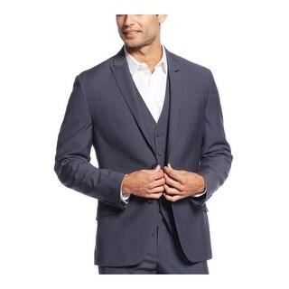INC International Concepts London Sportcoat Navy Blue Suit-Separate Blazer