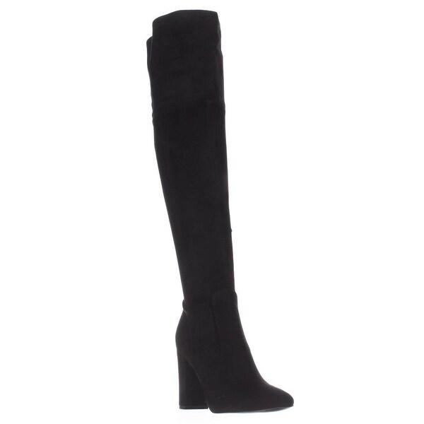 Ivanka Trump Rylee Rear Zip Over The Knee Boots, Black